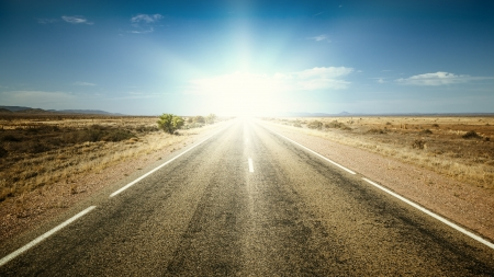 An image of a nice road to the sun photo