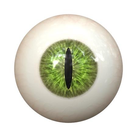 globo ocular: Una imagen de una textura de ojo de gato verde Foto de archivo