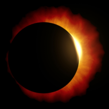 An image of a beautiful sun eclipse Stock Photo - 19469672