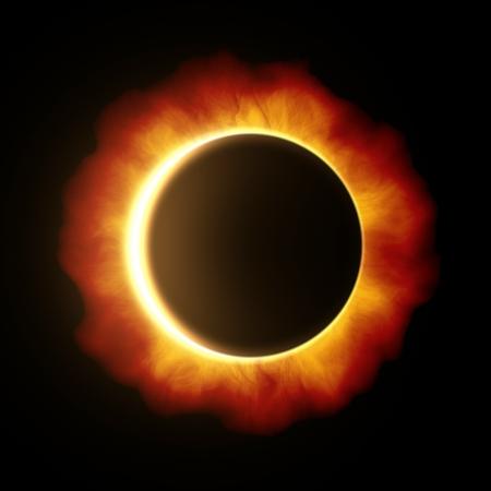 合計: 美しい太陽の日食の画像
