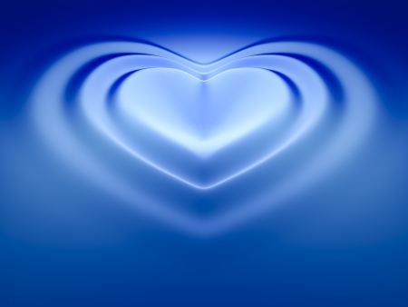 An image of a beautiful heart wave background photo