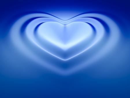 corazones azules: Una imagen de un fondo de hermosa ola coraz�n