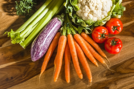 An image of a delicious vegetable background photo