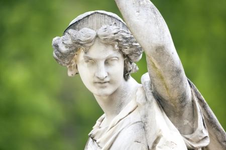 afrodita: Una imagen de una escultura de mujer bonita