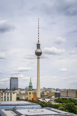 An image of the Television Tower in Berlin