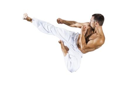 taekwondo: An image of a taekwondo martial arts master