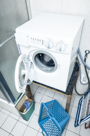 An image of a typical washing machine photo