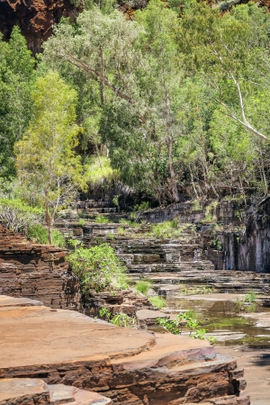 An image of the beautiful Dales Gorge in Australia photo