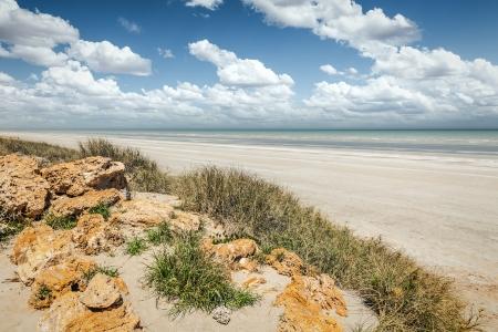 achtzig: Ein Bild von der Eighty Mile Beach in Australien