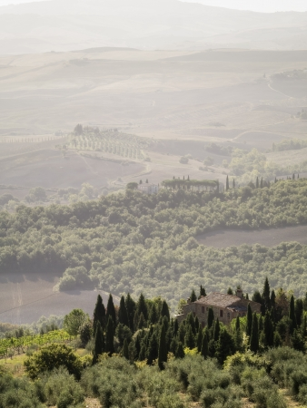 An image of a Tuscany landscape in Italy photo