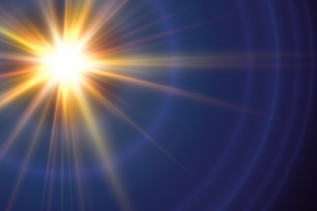 An image of a decorative lens flare background photo
