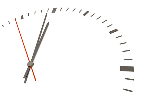 time change: An image of a nice clock with time for change