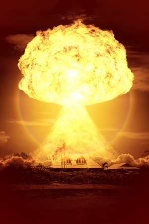 nuclear explosion: An image of a nuclear bomb explosion