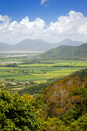 An image of some fields in the tropical Australia photo