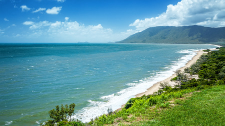 An image of a beautiful beach in Queensland Australia photo