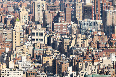 An image of some buildings in New York photo