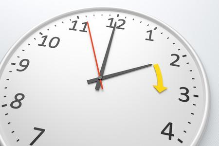 텍스트와 함께 좋은 시계의 이미지가 시계를 변경 스톡 콘텐츠 - 27748000