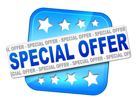 An image of a nice special offer sign for your website photo