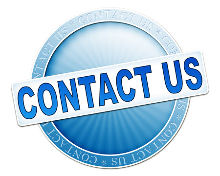 An image of a useful blue contact us button