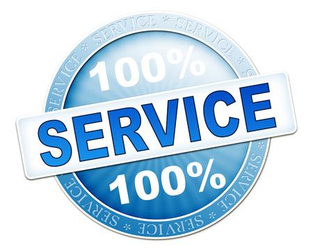webmail: An image of a useful blue service button
