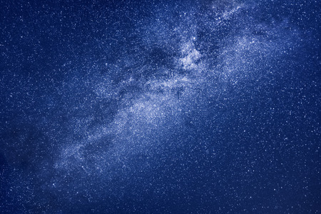A background image of the milky way stars  Stock Photo