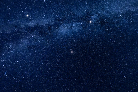 A background image of the milky way stars  Stockfoto