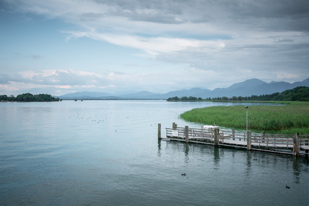 An image of the Chiemsee in Bavaria Germany photo