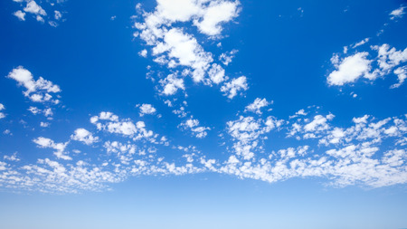 An image of a bright blue sky background photo