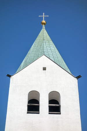 freising: An image of the Cathedral of Freising Bavaria Germany