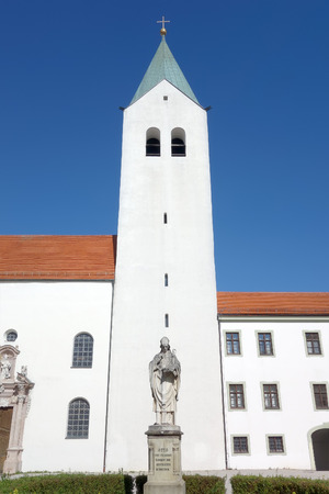 freising: the Cathedral of Freising Bavaria Germany