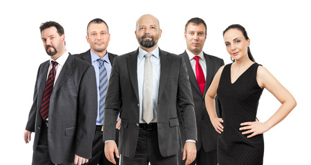 An image of a group of business people photo