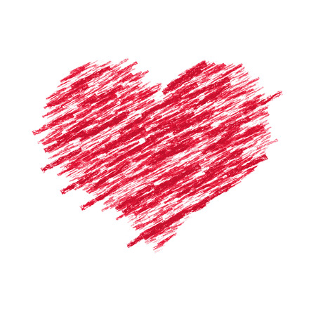 An image of a beautiful red heart photo