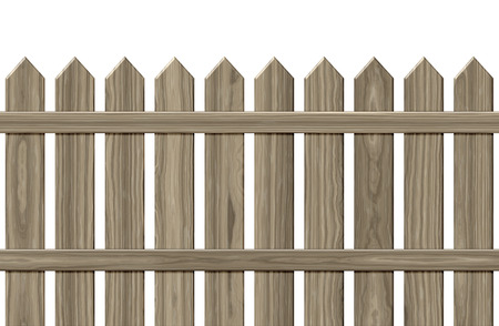slats: An image of a private fence background Stock Photo