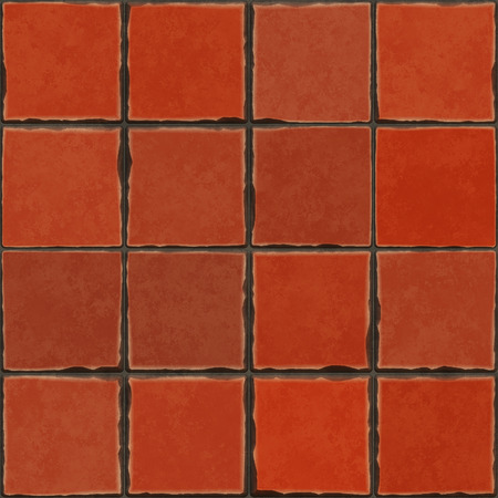 terracotta: An image of a beautiful terracotta tiles background