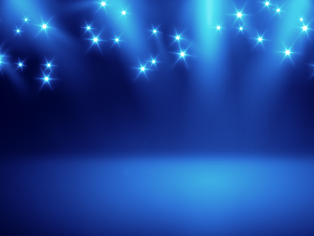 stage lights: An image of a nice stage lights background for your content