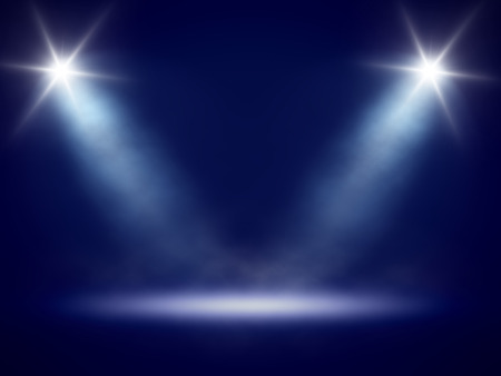 An image of a nice stage lights photo
