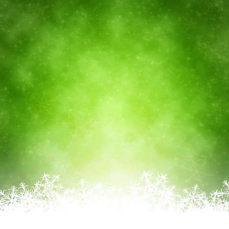 素敵な緑のクリスマスの背景のイメージ 写真素材