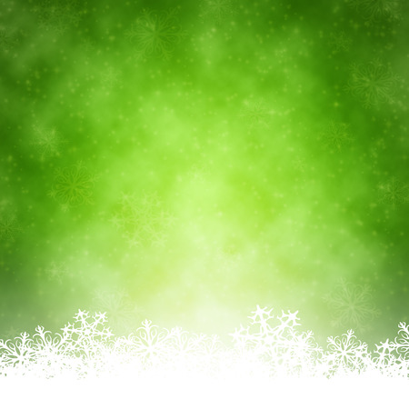 An image of a nice green christmas background