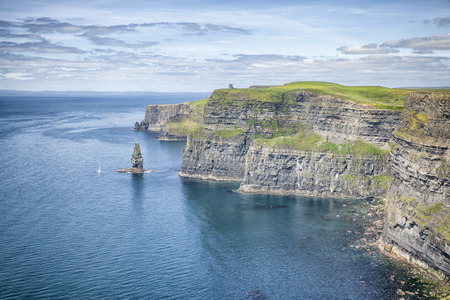 An image of the famous Cliffs of Moher in Ireland
