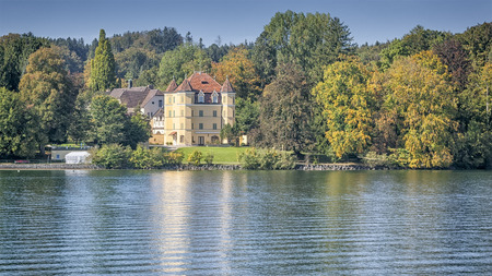 starnberger see: An image of the Castle Garatshausen Bavaria Germany