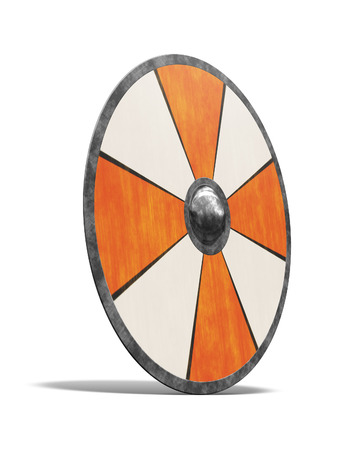 crusades: An image of a nice vintage shield Stock Photo