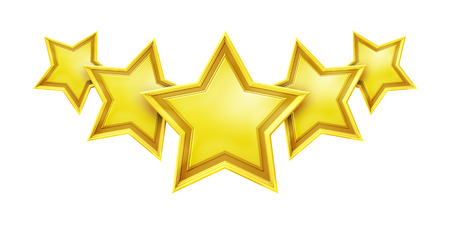 An image of a five star rating service photo