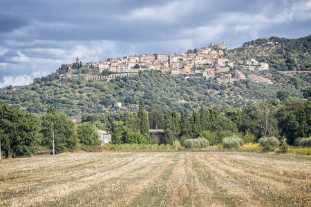 montepulciano: An image of a nice view to Montepulciano in Italy