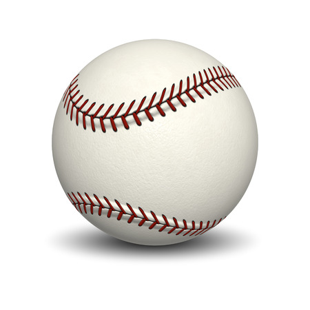 fastball: An image of a typical base ball