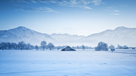 An image of a nice winter scenery photo