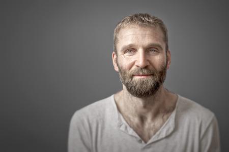 old man beard: An image of a man with a beard