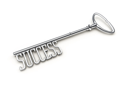 An image of a key with the word success photo