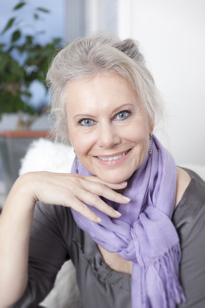 mid adult women: An image of a best age woman