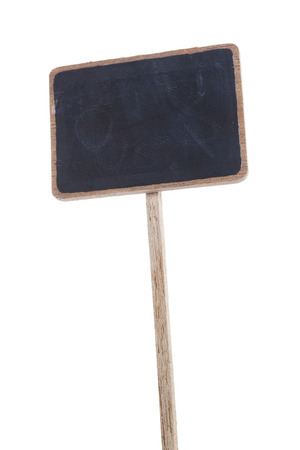 An image of a small wooden sign with space for your message photo