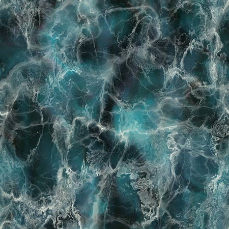 A detailed seamless blue marble stone texture background Foto de archivo